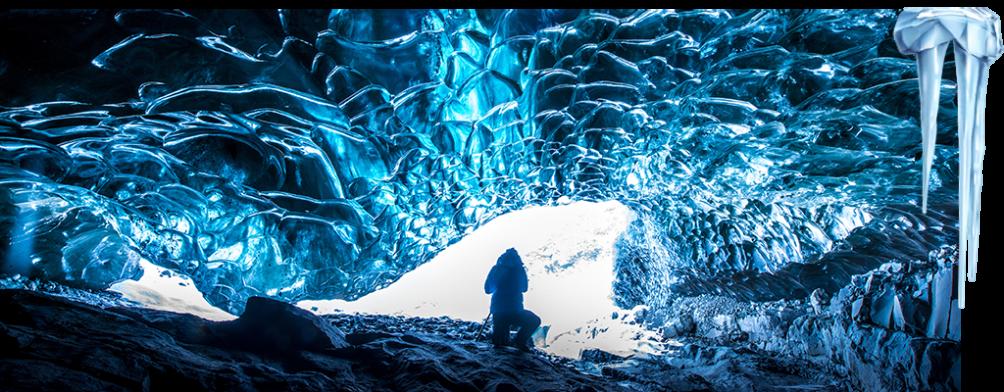 Exploring the Mendenhall Glacier Ice Caves, Alaska
