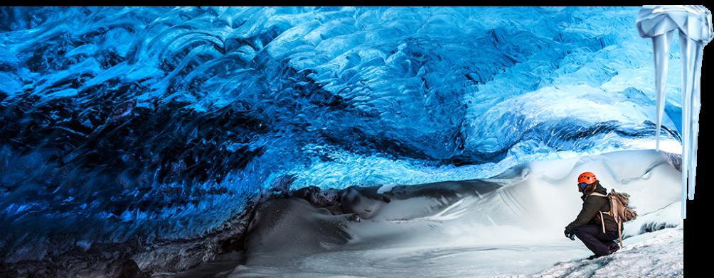 Adventure in Mendenhall Glacier Ice Caves, Alaska