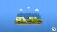 Jeep towing travel trailer RV Feature