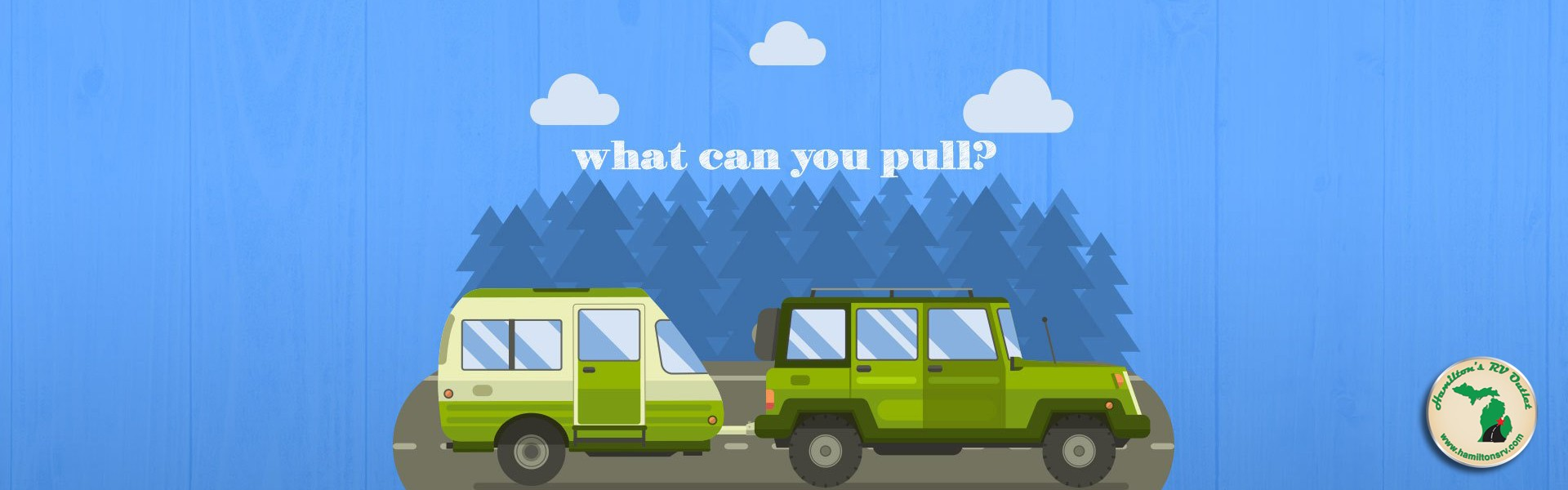 Jeep towing travel trailer RV - What can you pull? Banner