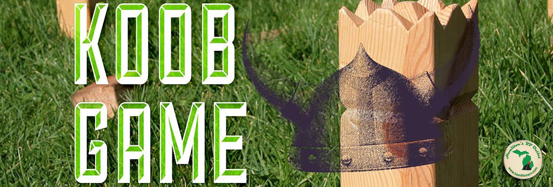 Koob Game - vikings Banner