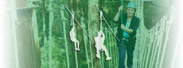 Rope Course Zip Line
