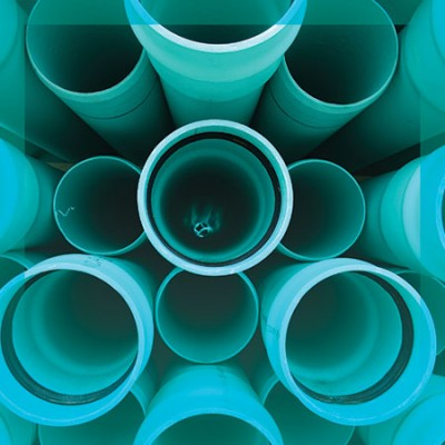 RV Sewer Hose PVC Container