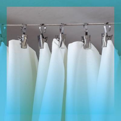 Shower Curtain Hook Purse Holder