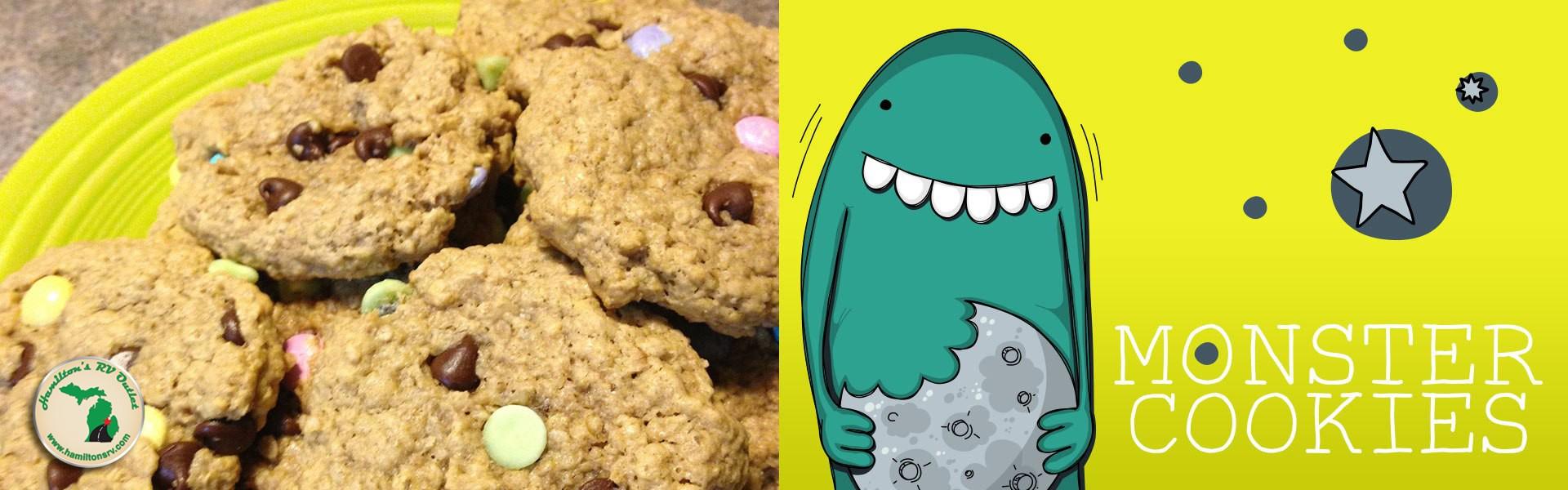 Monster Cookies Banner