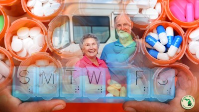 Managing Your Prescriptions While Fulltime RVing Old Couple