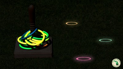 Glow In The Dark Ring Toss For Kids