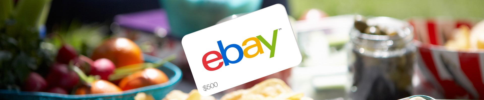 RV Ebay America Beautiful Sale Event giftcard picnic