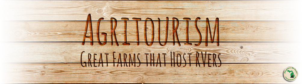 Agritourism - Great Farms that Host RVers