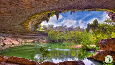 Hamilton's Pool In Texas Spring View