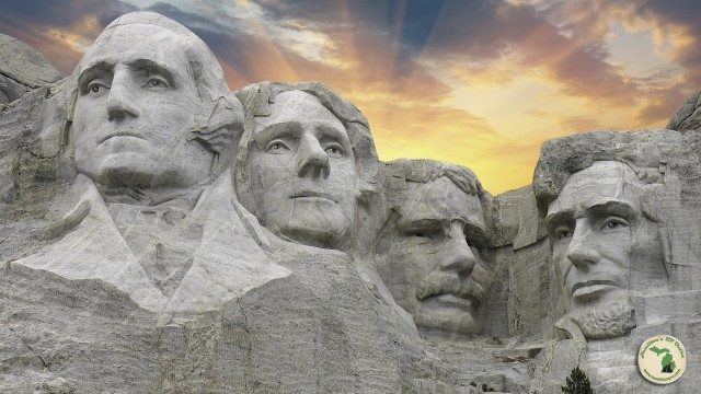 Check out the amazing mount rushmore