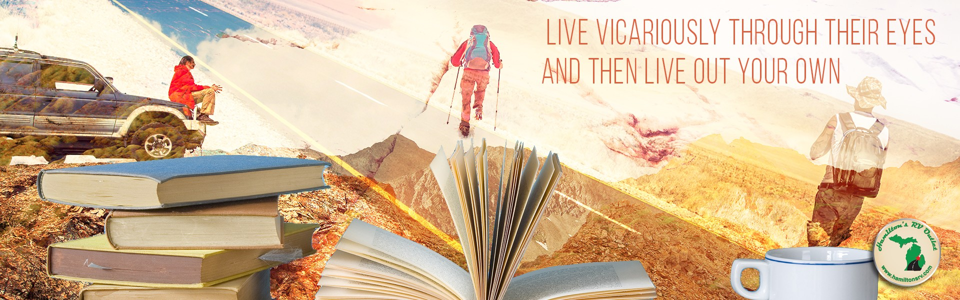 Live vicariously through their eyes - books and travelers