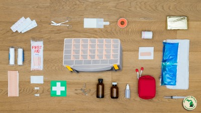 Tackle Box To First Aide Kit