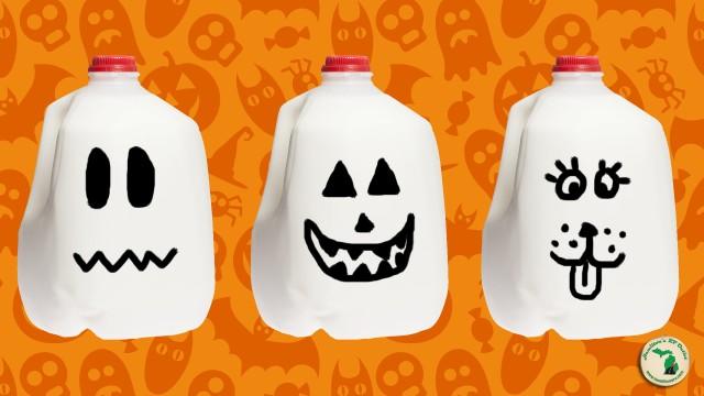 Milk Jug Pumpkins