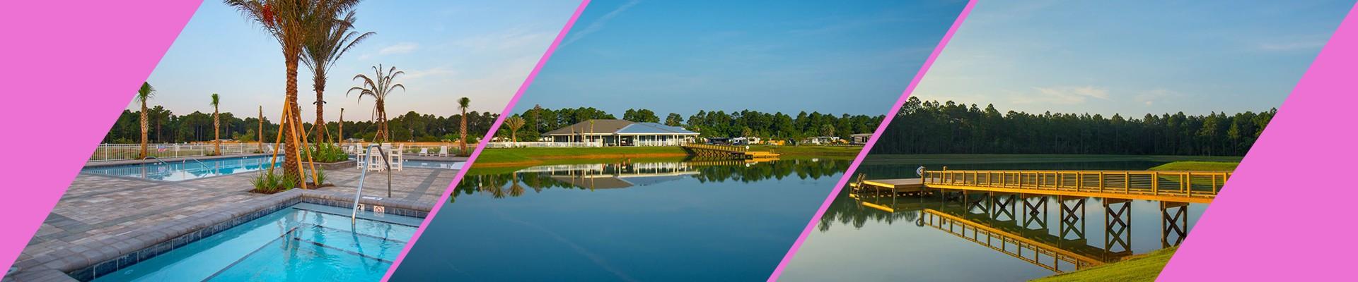 Pandion Ridge Luxury RV Resort in Orange Beach, Alabama