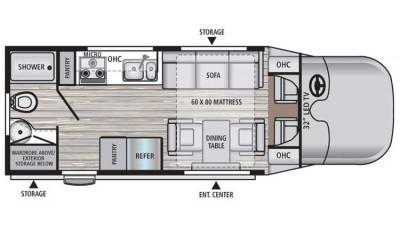 2018 REV 24RB Floor Plan