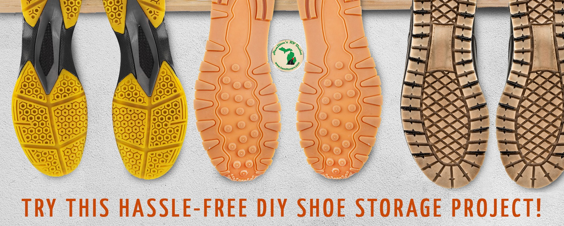 Are you tired of shoes cluttering up your RVu0027s entryway? Itu0027s just too easy to walk in slip off your shoes and walk away! & DIY Shoe Storage Pegs! Easy To Make!. Hamiltons RV Blog