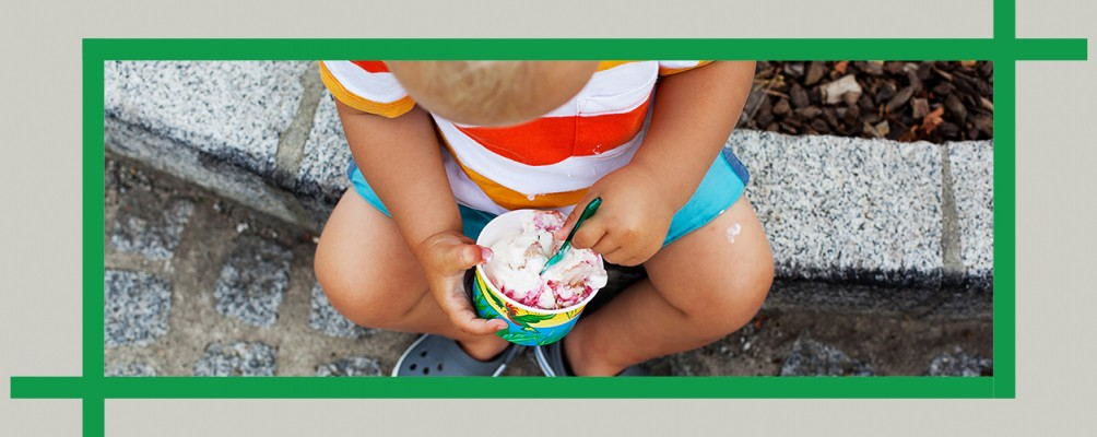 Enjoy a sweet treat at the snack bar in World's End State Park, Pennsylvania