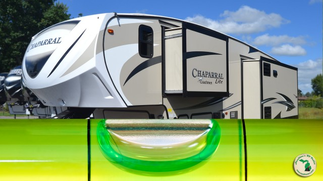 Leveling Your RV With In Or Out Slides