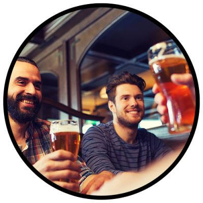 Go on a brewery tour with your guys