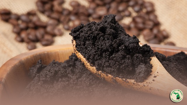 Uses for used coffee grounds