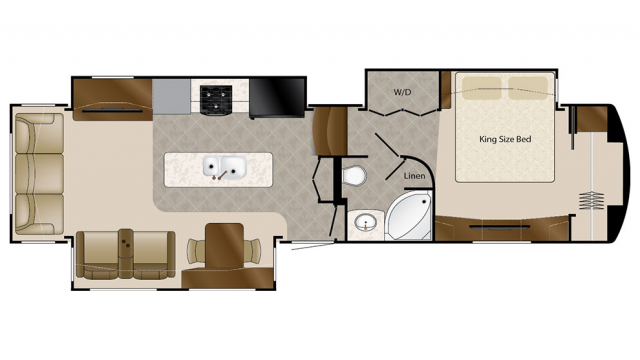 2018 Mobile Suites 36RSSB3 Floor Plan