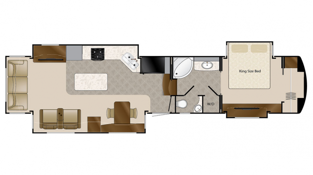 2018 Mobile Suites 43 DALLAS Floor Plan