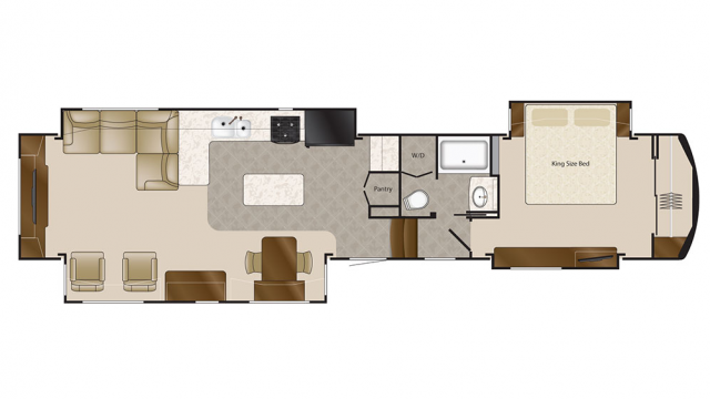 2018 Mobile Suites 44 MEMPHIS Floor Plan