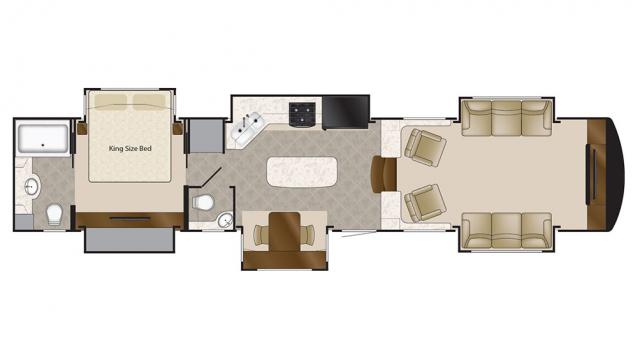 2018 Mobile Suites 44 NASHVILLE Floor Plan