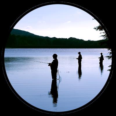 A man's vacation: fishing getaway