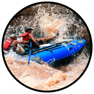 Take a white water rafting trip in the Grand Canyon