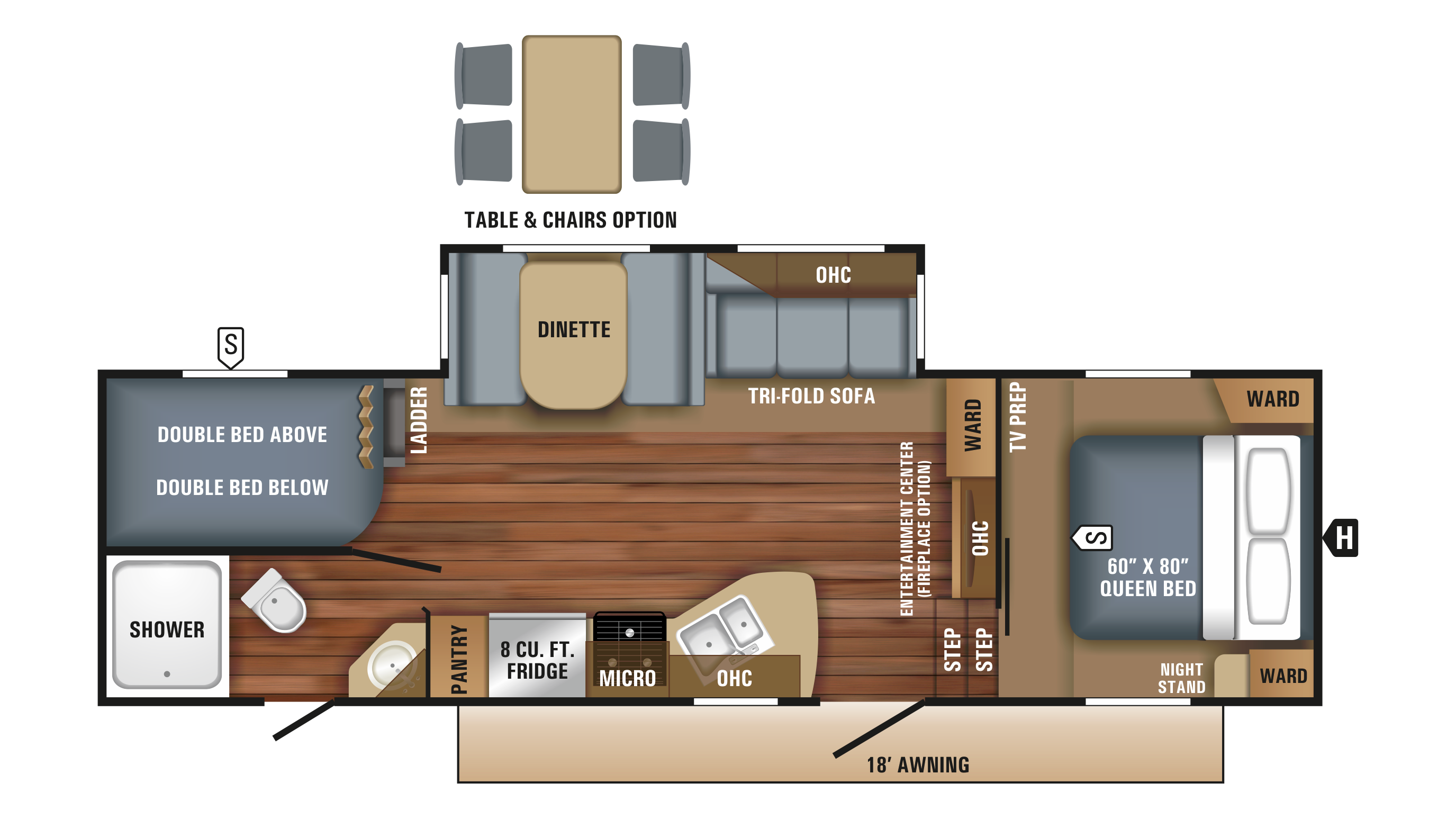 Jayco Rv Floor Plans Jayco Jayco Eagle Rvs For Sale Camping World Rv Sales