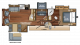 2018 Eagle HT 30.5MBOK Floor Plan