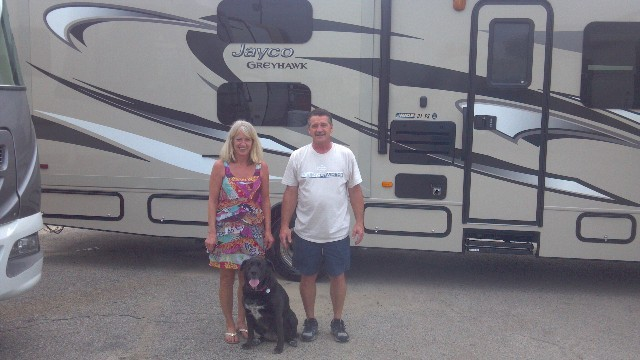 Glen Tiefer at Motorhomes 2 Go with their Greyhawk 31FS