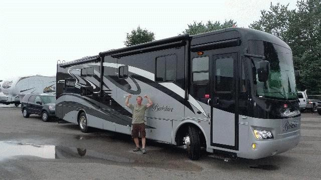 Andrew Harris of Ft. Wayne, IN with their Berkshire 40BH