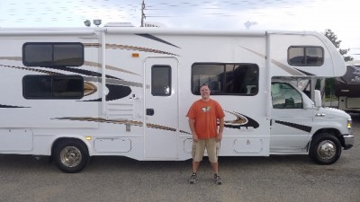 Dave Schleprock of Grand Rapids, MI with their Sunseeker 2500TS FORD