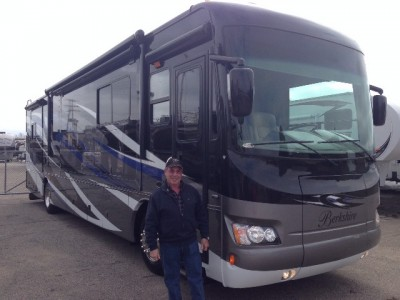 Dennis Longo of Philadelphia, PA with their Berkshire 380RB