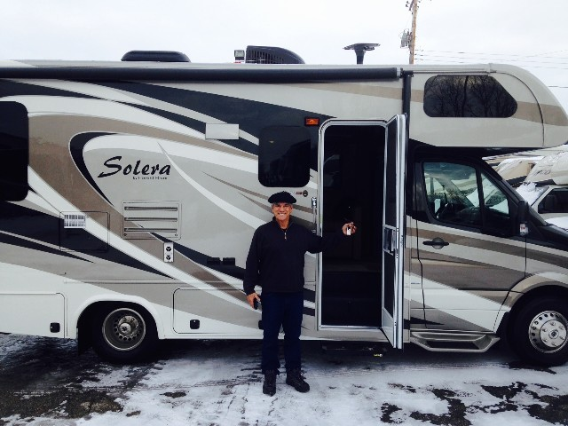 Joe Ohara of Marathon, FL with their Solera 24R