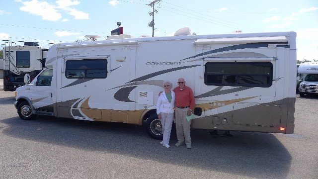 Larry Farmer of Hesperia with their Aspire 42RBQ