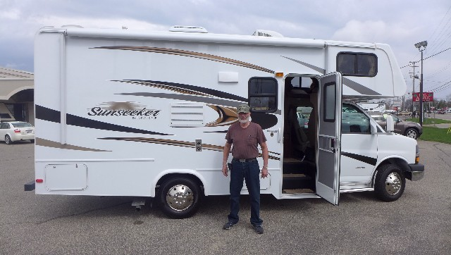 Max G of Graham with their Sunseeker 2500TS FORD