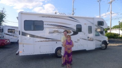 Yaxon Fleeser at Motorhomes 2 Go with their Sunseeker 2290S FORD