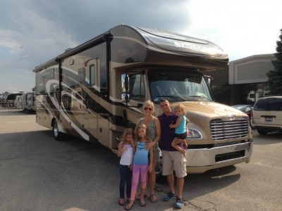 Schmitts Walsh of Millington with their Seneca 36FK