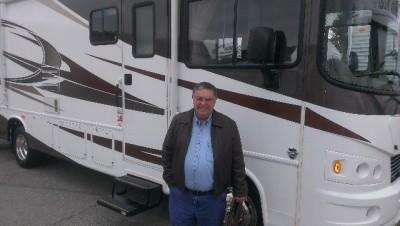 Tom Moore of Glengoe Way, AL with their Georgetown 310DS