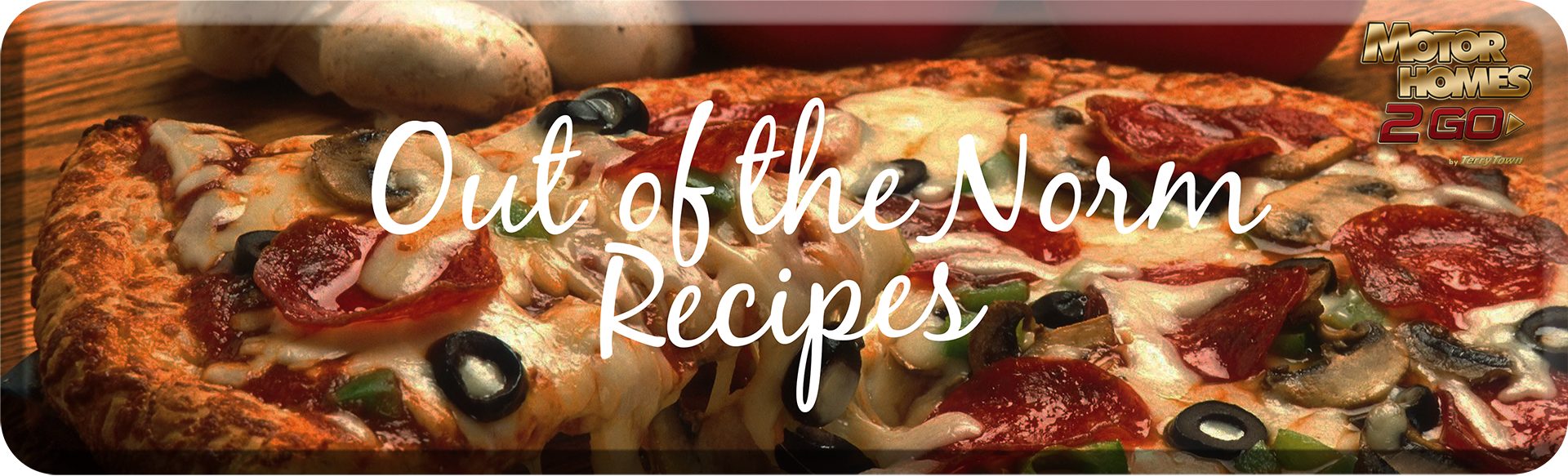 Out of the norm recipes Banner