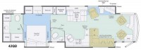 2013 Ellipse 42QD Floor Plan