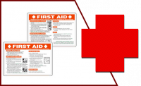First-Aid Cards or Manual