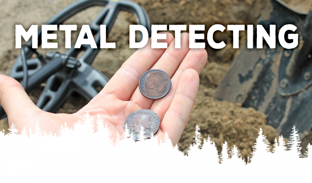 Mitchell State Park Metal Detecting