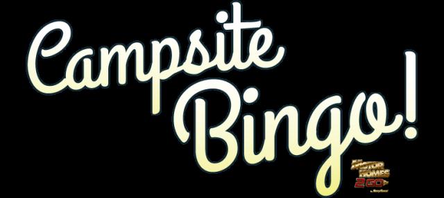Campsite Bingo Banner