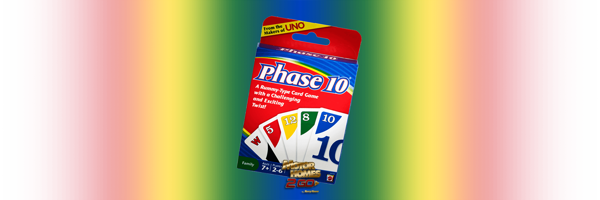 Phase 10 card game Banner
