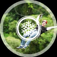 Snow Snake Ski and Resort Zip Lining